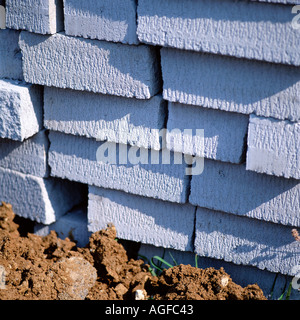 Concrete blocks - Stock Photo