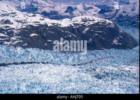 aerial view  at  Glacier Bay National Park, Alaska, USA Photo by Willy Matheisl - Stock Photo