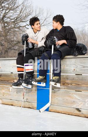 2 Boys Chating Around