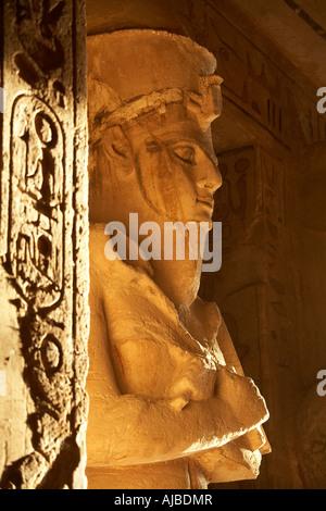 Osiris, Egyptian God of the Afterlife Stock Photo ...