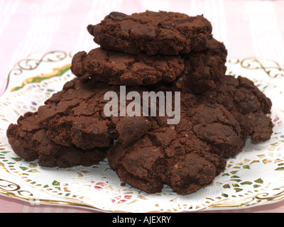 Chocolate Biscuits - Stock Photo