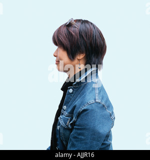 Portrait of an oriental woman - Stock Photo