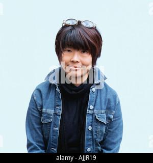 Portrait of an oriental woman - Stock Photo