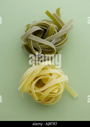 Tagliatelle - shot with Hasselblad medium format pro digital camera - Stock Photo