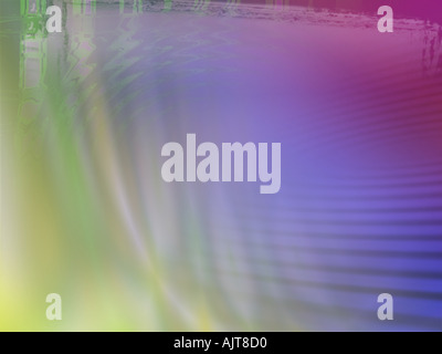 Multi Coloured Computer Generated Image - Stock Photo