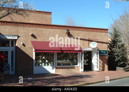 New mexico indian gift shop on i 40 stock photo royalty for Jewelry stores in usa