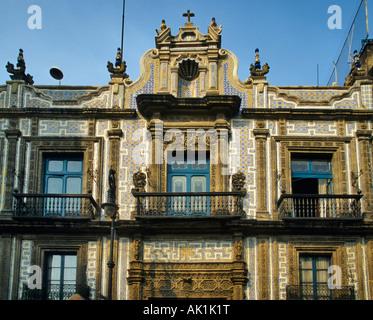 The casa de los azulejos or house of tiles mexico city for House of tiles mexico city