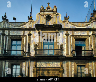 The Casa De Los Azulejos Or House Of Tiles Mexico City