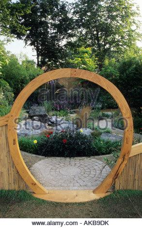 feng shui garden design pamela woods red border with crocosmia stock