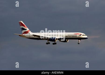 British Airways B757 - Stock Photo