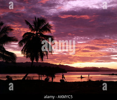 JM - JAMAICA: Sunset at Ocho Rios - Stock Photo