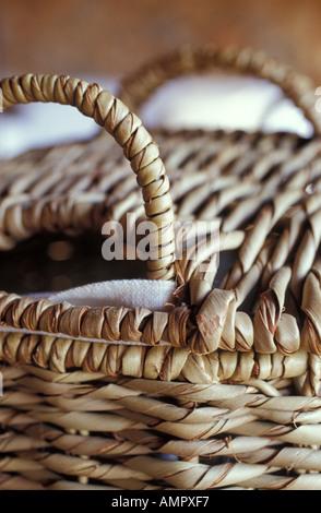 Picnic Basket, close up - Stock Photo