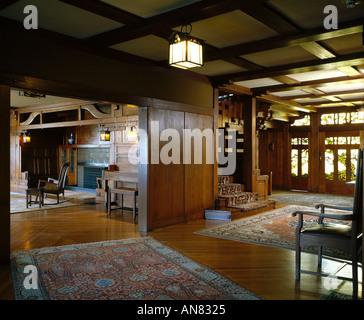 The david b gamble house pasadena california mahogany for The family room pasadena
