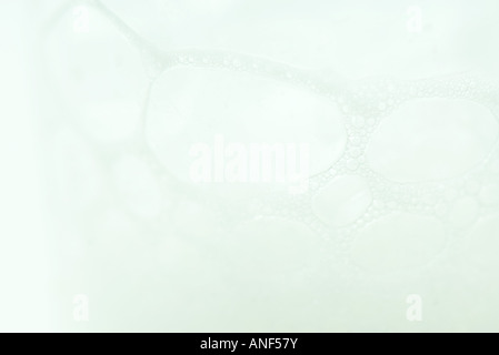Soap suds, extreme close-up - Stock Photo