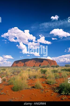Ayers Rock (Uluru), Northern Territory, Australia - Stock Photo