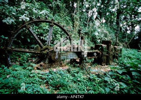 Central America, Panama, Darien Province, Darien National Park, Cana, Ghost Mine. - Stock Photo