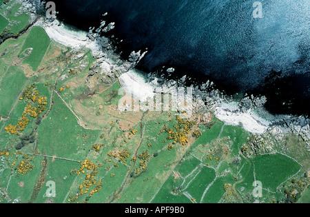 Coast of County Down Northern Ireland - Stock Photo