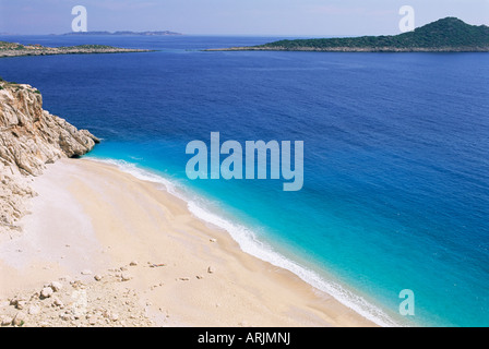 Beach, Kaputas, Lycia, Anatolia, Turkey, Asia Minor, Asia - Stock Photo