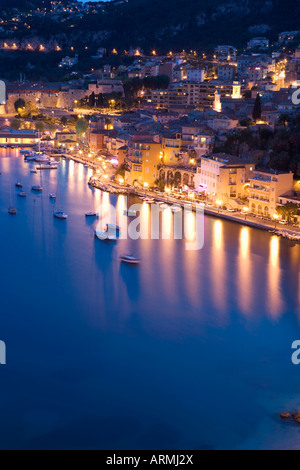Villefranche-sur-Mer, Alpes Maritimes, Provence, Cote d'Azur, French Riviera, France, Mediterranean, Europe - Stock Photo