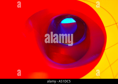 Inflated AMOZOZO LUMINARUM at Clapham North Yorkshire - Stock Photo