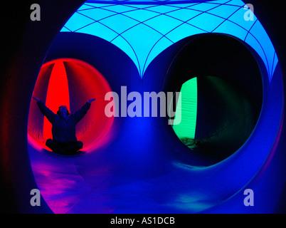 Inflated AMOZOZO LUMINARUM at Clapham North Yorkshire - Stock Photo