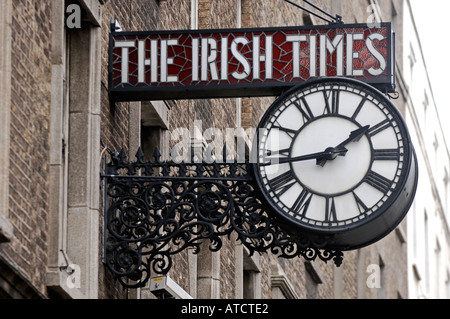 The times newspaper offices in printing house square london 1894 stock photo royalty free - Irish times office dublin ...