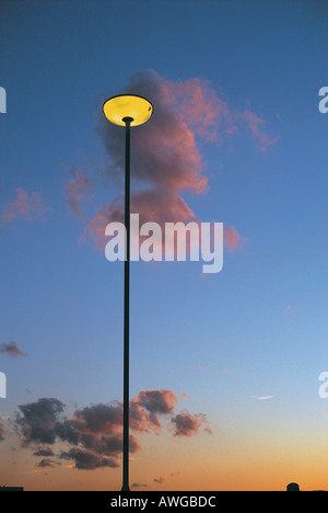 A lamp post - Stock Photo
