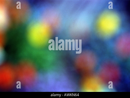 Painting, close up, blurred - Stock Photo