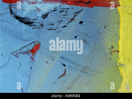 Colorful textured surface - Stock Photo