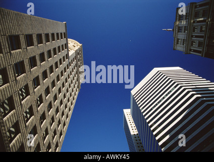 Skyscrapers, low angle view - Stock Photo
