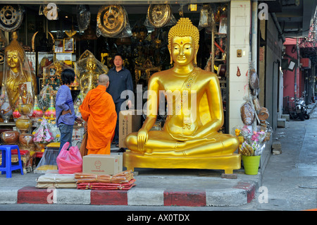 Thailand Bangkok Bamrung Muang Religious Supplies For Sale Offerings Stock Ph...