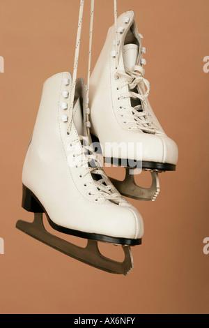 White Skates - Stockfoto