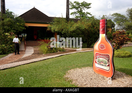 Appleton Rum Factory Exterior Jamaica - Stock Photo