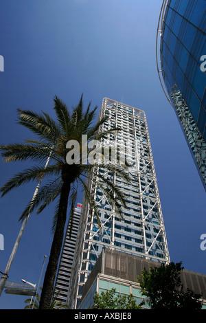 ESP Spain Barcelona Barceloneta Barcelona Hotel des Arts - Stock Photo
