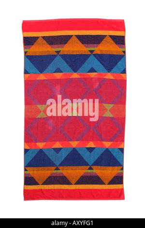 Colorful Beach Towel - Stockfoto