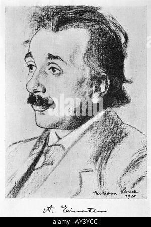 Albert Einstein - Stockfoto