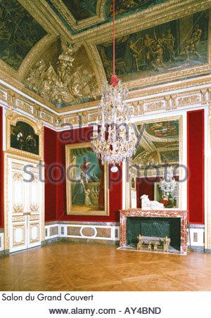 Palace of versailles salon du grand couvert stock photo - Salon du vin versailles ...