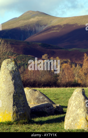 PICTURE CREDIT DOUG BLANE Skiddaw in the English Lake District National Park Cumbria Great Britain - Stock Photo