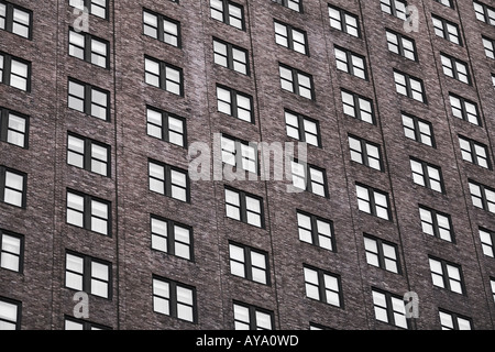 High Rise Building On Broadway Manhattan New York City - Stock Photo