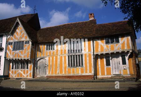 Little Hall Lavenham Suffolk England - Stock Photo