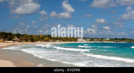 Jamaica Long bay at east coast - Stock Photo