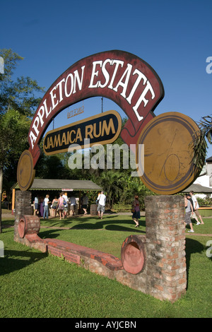Jamaica Appleton Estate Jamaica Rum factory district St Elisabeth - Stock Photo