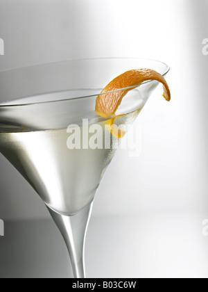 martini glass detail - Stock Photo