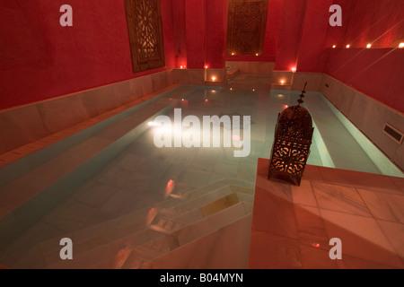 One of three baths at Aire de Sevilla, Banos Arabes (Arab Baths), Santa Cruz District, City of Sevilla (Seville) - Stockfoto