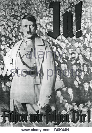 """Nazism / National Socialism, propaganda, Adolf Hitler and general Erich Ludendorff, """"Deutscher Tag"""" """"German Day"""", Nuremberg, 1923, composite photograph, Additional-Rights-Clearences-NA"""