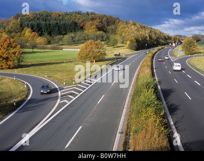 motorway autobahn deutschland stock photo royalty free image 103062862 alamy. Black Bedroom Furniture Sets. Home Design Ideas