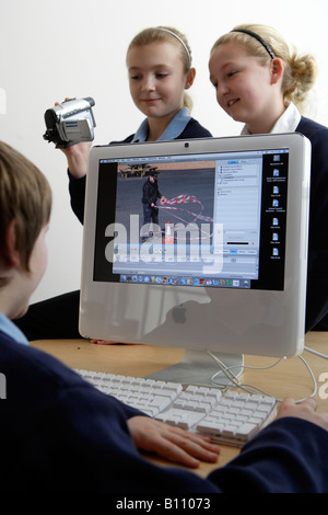 Children Junior School South Wales - Stock Photo