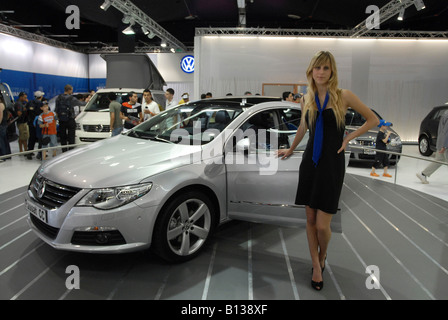 israel new model cars on display at a car show red. Black Bedroom Furniture Sets. Home Design Ideas