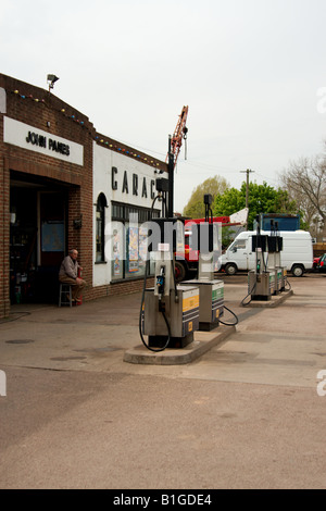 Petrol Station, Upton-upon-Severn - Stockfoto