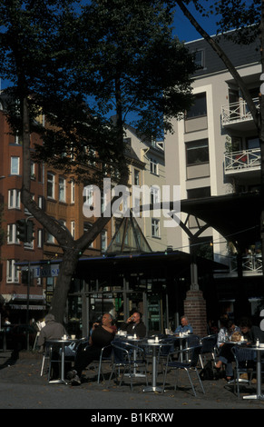 Hamburg St Georg Cafe